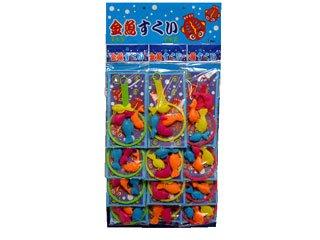 金魚すくい 台紙(12袋入り)単品参考上代60円