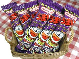 うまい棒 めんたい味(30本入り)単品参考上代10円