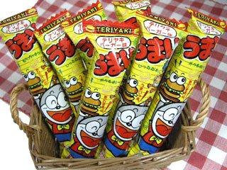 うまい棒 テリヤキバーガー味(30本入り)単品参考上代10円