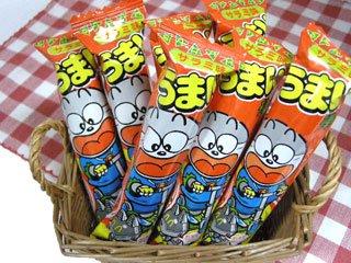 うまい棒 サラミ味(30本入り)単品参考上代10円