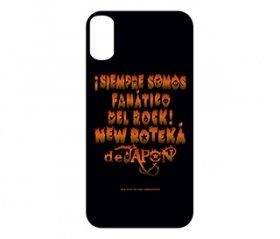 iPhone X / iPhone XS ソフトケース 「DEL ROCK!」