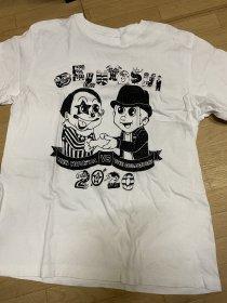 闇市2020その6「カタルのTシャツ(ゲルよし白)」