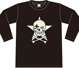 Dピエロ ロングスリーブTシャツ(黒)