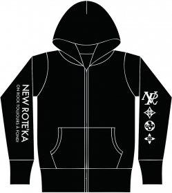 TOUJOURSパーカー(黒)