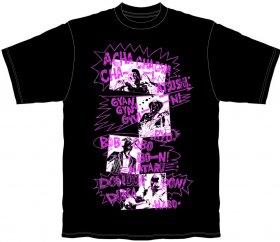 ACHACHA Tシャツ(黒)