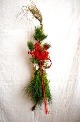 ひと葉のお正月飾り・大王松縄〆飾り