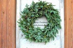 オレゴン樅のクリスマスリース