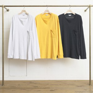 <img class='new_mark_img1' src='//img.shop-pro.jp/img/new/icons14.gif' style='border:none;display:inline;margin:0px;padding:0px;width:auto;' />UNUSED LONG-SLEEVE POCKET T-SHIRT