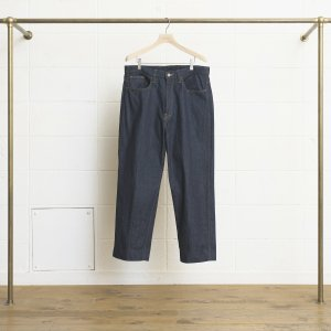 <img class='new_mark_img1' src='//img.shop-pro.jp/img/new/icons47.gif' style='border:none;display:inline;margin:0px;padding:0px;width:auto;' />UNUSED 12OZ DENIM BAGGY PANTS