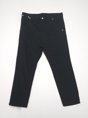 <img class='new_mark_img1' src='//img.shop-pro.jp/img/new/icons47.gif' style='border:none;display:inline;margin:0px;padding:0px;width:auto;' />JieDa SARROUEL TAPERED SKINNY DENIM (BLK)
