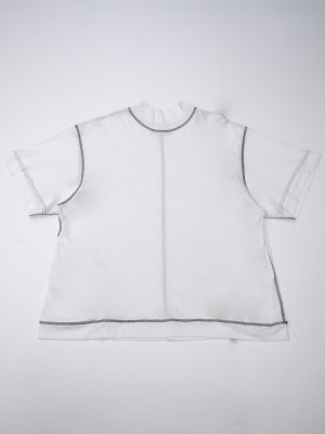 <img class='new_mark_img1' src='//img.shop-pro.jp/img/new/icons14.gif' style='border:none;display:inline;margin:0px;padding:0px;width:auto;' />JieDa MOC NECK T-SHIRT (WHT)