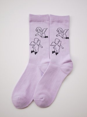 <img class='new_mark_img1' src='//img.shop-pro.jp/img/new/icons14.gif' style='border:none;display:inline;margin:0px;padding:0px;width:auto;' />WHIMSY 32/1 FLANDERS SOCKS (PPL)
