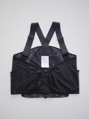 <img class='new_mark_img1' src='//img.shop-pro.jp/img/new/icons47.gif' style='border:none;display:inline;margin:0px;padding:0px;width:auto;' />Sasquatchfabrix. MESH BACKPAK VEST (BLK)