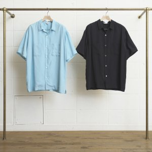 <img class='new_mark_img1' src='//img.shop-pro.jp/img/new/icons47.gif' style='border:none;display:inline;margin:0px;padding:0px;width:auto;' />UNUSED OPEN COLLAR SHORT-SLEEVE SHIRT