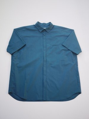 Dulcamara ショートスリーブトレンチシャツ (G/B)