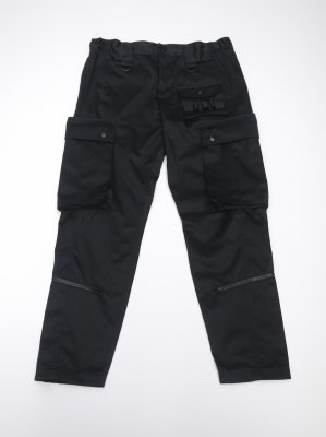 <img class='new_mark_img1' src='//img.shop-pro.jp/img/new/icons14.gif' style='border:none;display:inline;margin:0px;padding:0px;width:auto;' />JieDa T/C CARGO PANTS (BLK)