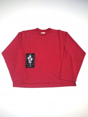 <img class='new_mark_img1' src='//img.shop-pro.jp/img/new/icons14.gif' style='border:none;display:inline;margin:0px;padding:0px;width:auto;' />JieDa PATCH LONG SLEEVE T-SHIRT (RED)