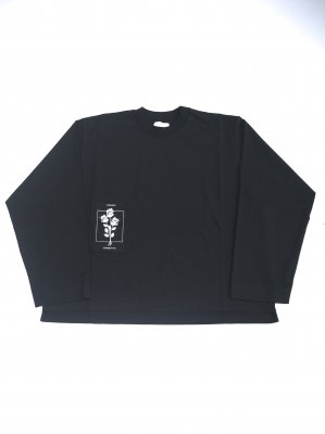 <img class='new_mark_img1' src='//img.shop-pro.jp/img/new/icons14.gif' style='border:none;display:inline;margin:0px;padding:0px;width:auto;' />JieDa PATCH LONG SLEEVE T-SHIRT (BLK)