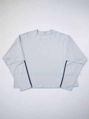 <img class='new_mark_img1' src='//img.shop-pro.jp/img/new/icons16.gif' style='border:none;display:inline;margin:0px;padding:0px;width:auto;' />[20%OFF] JieDa LAYERED T-SHIRT (L/G)