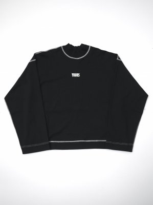 <img class='new_mark_img1' src='//img.shop-pro.jp/img/new/icons14.gif' style='border:none;display:inline;margin:0px;padding:0px;width:auto;' />JieDa MOC NECK LONG SLEEVE T-SHIRT (BLK)