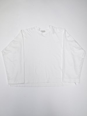 <img class='new_mark_img1' src='//img.shop-pro.jp/img/new/icons14.gif' style='border:none;display:inline;margin:0px;padding:0px;width:auto;' />JieDa LONG SLEEVE T-SHIRT (WHT)