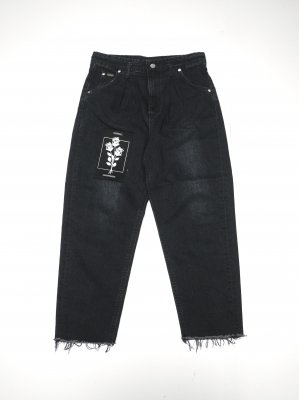 <img class='new_mark_img1' src='//img.shop-pro.jp/img/new/icons14.gif' style='border:none;display:inline;margin:0px;padding:0px;width:auto;' />Lee × JieDa TAPERED DENIM PANT (BLK)