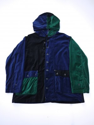 <img class='new_mark_img1' src='//img.shop-pro.jp/img/new/icons14.gif' style='border:none;display:inline;margin:0px;padding:0px;width:auto;' />AiE KRAZY PARKA COTTON VELVETEEN
