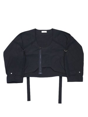 <img class='new_mark_img1' src='//img.shop-pro.jp/img/new/icons16.gif' style='border:none;display:inline;margin:0px;padding:0px;width:auto;' />[30%OFF] JieDa FLIGHT JACKET (BLK)