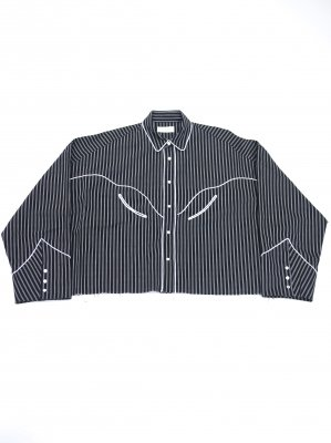 <img class='new_mark_img1' src='//img.shop-pro.jp/img/new/icons14.gif' style='border:none;display:inline;margin:0px;padding:0px;width:auto;' />JieDa WESTERN SHIRT (BLK)