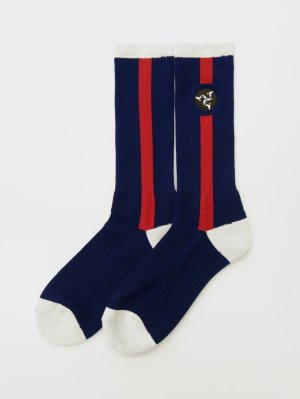 <img class='new_mark_img1' src='//img.shop-pro.jp/img/new/icons47.gif' style='border:none;display:inline;margin:0px;padding:0px;width:auto;' />WHIMSY 32/1 POZESSION SOCKS (NAV)