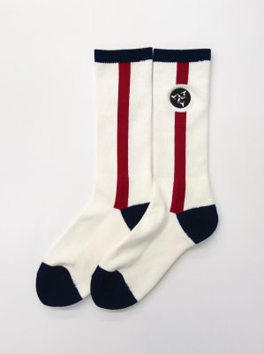 <img class='new_mark_img1' src='//img.shop-pro.jp/img/new/icons47.gif' style='border:none;display:inline;margin:0px;padding:0px;width:auto;' />WHIMSY 32/1 POZESSION SOCKS (WHT)