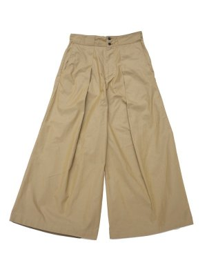<img class='new_mark_img1' src='//img.shop-pro.jp/img/new/icons16.gif' style='border:none;display:inline;margin:0px;padding:0px;width:auto;' />[40%OFF] JieDa BIG TUCK PANTS (GOL)