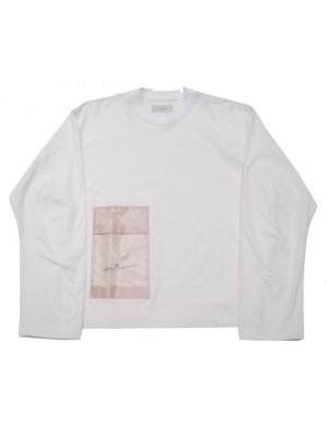 <img class='new_mark_img1' src='//img.shop-pro.jp/img/new/icons14.gif' style='border:none;display:inline;margin:0px;padding:0px;width:auto;' />JieDa LAMINATE POCKET L/S T-SHIRT (WHT)