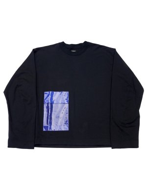 <img class='new_mark_img1' src='//img.shop-pro.jp/img/new/icons14.gif' style='border:none;display:inline;margin:0px;padding:0px;width:auto;' />JieDa LAMINATE POCKET L/S T-SHIRT (BLK)