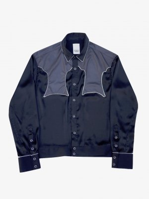 <img class='new_mark_img1' src='//img.shop-pro.jp/img/new/icons14.gif' style='border:none;display:inline;margin:0px;padding:0px;width:auto;' />YSTRDY'S TMRRW SATIN RODEO SHIRT