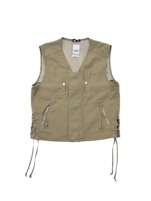 <img class='new_mark_img1' src='//img.shop-pro.jp/img/new/icons14.gif' style='border:none;display:inline;margin:0px;padding:0px;width:auto;' />YSTRDY'S TMRRW RUNAWAY VEST (BEI)