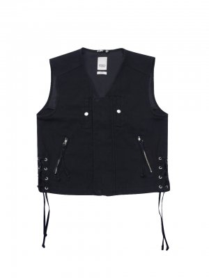 <img class='new_mark_img1' src='//img.shop-pro.jp/img/new/icons14.gif' style='border:none;display:inline;margin:0px;padding:0px;width:auto;' />YSTRDY'S TMRRW RUNAWAY VEST (BLK)