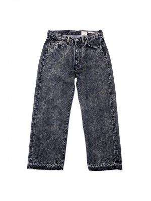 <img class='new_mark_img1' src='//img.shop-pro.jp/img/new/icons14.gif' style='border:none;display:inline;margin:0px;padding:0px;width:auto;' />YSTRDY'S TMRRW WIDE LEG RODEO JEANS (BLK)