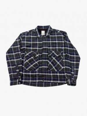 <img class='new_mark_img1' src='//img.shop-pro.jp/img/new/icons14.gif' style='border:none;display:inline;margin:0px;padding:0px;width:auto;' />YSTRDY'S TMRRW PLAID 925 SHIRT (CHA)