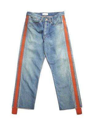 <img class='new_mark_img1' src='//img.shop-pro.jp/img/new/icons14.gif' style='border:none;display:inline;margin:0px;padding:0px;width:auto;' />JieDa SIDE LINE DENIM PANTS (IND)