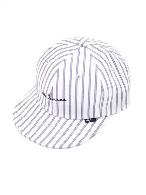 <img class='new_mark_img1' src='//img.shop-pro.jp/img/new/icons16.gif' style='border:none;display:inline;margin:0px;padding:0px;width:auto;' />[50%OFF] JieDa STRIPE CAP (WHT)