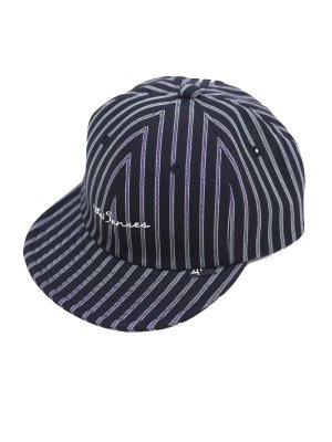 <img class='new_mark_img1' src='//img.shop-pro.jp/img/new/icons16.gif' style='border:none;display:inline;margin:0px;padding:0px;width:auto;' />[50%OFF] JieDa STRIPE CAP (BLK)