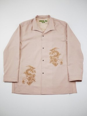 <img class='new_mark_img1' src='//img.shop-pro.jp/img/new/icons14.gif' style='border:none;display:inline;margin:0px;padding:0px;width:auto;' />Sasquatchfabrix. ORIENTAL MIDDLE LENGTH SHIRT JKT (D/P)