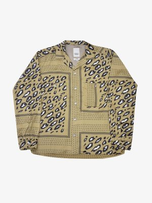 <img class='new_mark_img1' src='//img.shop-pro.jp/img/new/icons14.gif' style='border:none;display:inline;margin:0px;padding:0px;width:auto;' />YSTRDY'S TMRRW YANKEE SHIRT LEOPARD (BEI)