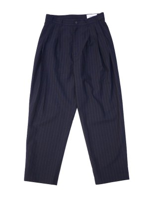 <img class='new_mark_img1' src='//img.shop-pro.jp/img/new/icons47.gif' style='border:none;display:inline;margin:0px;padding:0px;width:auto;' />HED MAYNER FOUR PLEAT PANTS (N/B)