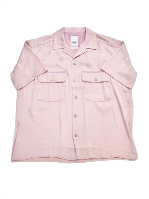 <img class='new_mark_img1' src='//img.shop-pro.jp/img/new/icons14.gif' style='border:none;display:inline;margin:0px;padding:0px;width:auto;' />YSTRDY'S TMRRW SATIN YANKEE SHIRT S/S (PIN)