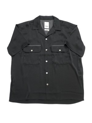 <img class='new_mark_img1' src='//img.shop-pro.jp/img/new/icons14.gif' style='border:none;display:inline;margin:0px;padding:0px;width:auto;' />YSTRDY'S TMRRW SATIN YANKEE SHIRT S/S (BLK)