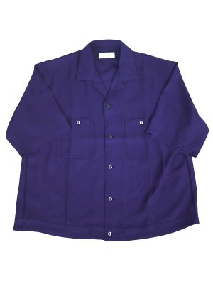 <img class='new_mark_img1' src='//img.shop-pro.jp/img/new/icons16.gif' style='border:none;display:inline;margin:0px;padding:0px;width:auto;' />[40%OFF] JieDa OPEN COLLAR SHIRT (PUR)