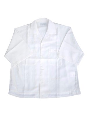 <img class='new_mark_img1' src='//img.shop-pro.jp/img/new/icons16.gif' style='border:none;display:inline;margin:0px;padding:0px;width:auto;' />[40%OFF] JieDa OPEN COLLAR SHIRT (WHT)