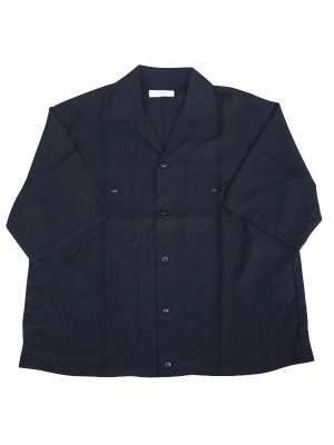 <img class='new_mark_img1' src='//img.shop-pro.jp/img/new/icons16.gif' style='border:none;display:inline;margin:0px;padding:0px;width:auto;' />[50%OFF] JieDa OPEN COLLAR SHIRT (BLK)